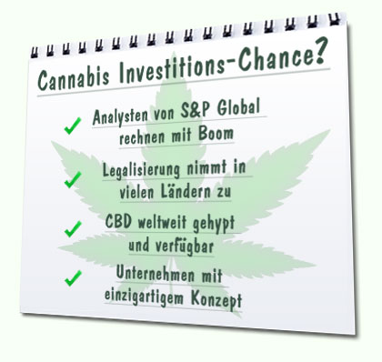 Cannabis Investition